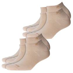 Burlington Everyday 2-Pack Damen Sneakersocken Sandstone (4024) 36-41 One size fits all (Gr. 36-41) von Burlington