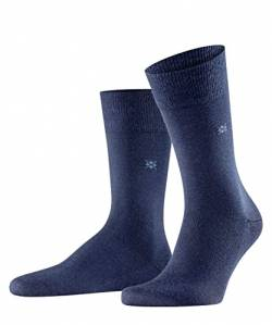 Burlington Herren Socken Leeds M SO, Blau (Marine 6120), 40-46 (UK 6.5-11 Ι US 7.5-12) von Burlington