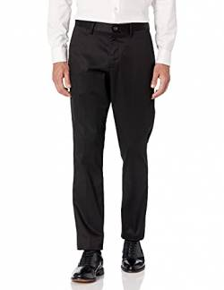 Buttoned Down Athletic Fit Non-Iron Chino dress-pants, schwarz, 42W x 30L von Buttoned Down