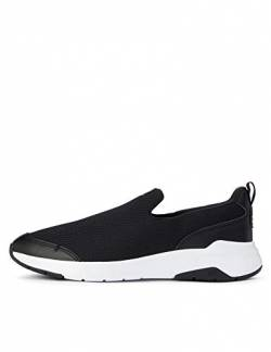 Care of by PUMA Slip on Runner 2 Low-Top Sneakers, Schwarz (Black-Glacier Gray), 37 EU von CARE OF by PUMA