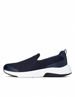 CARE OF by PUMA Slip on Runner Low-Top Sneakers, Blau (Navy Blazer-Oatmeal), 40 EU von CARE OF by PUMA