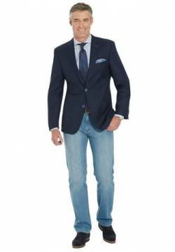 CARL GROSS Herren Blazer CG Sinclair, 30-205S0/62 (), Gr. 48 von CARL GROSS