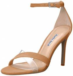 CHARLES DAVID Damen Courtney Sandalen mit Absatz, Nude, 37 EU von CHARLES DAVID