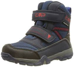 CMP Kinder Winterstiefel Pyry Snow Boot WP 38Q4514 Black Blue 28 von CMP