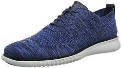 Cole Haan Herren 2.Zerogrand Stitchlite Oxfords, Blau (Blue/Nimbus Cloud Knit/Nimbus Cloud Blue/Nimbus Cloud Knit/Nimbus Cloud), 44 EU von Cole Haan
