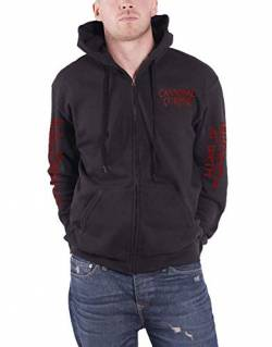 Cannibal Corpse Butchered at Birth 2019 Zip-Hood/Kapuzenjacke XL von Cannibal Corpse