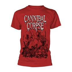 Cannibal Corpse Pile of Skulls 2018 T-Shirt rot XL von Cannibal Corpse