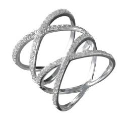 Canyon Damen Ring, Sterling-Silber 925, 56 (17.8), R4164-T56 von Canyon