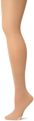 Capezio Damen Ultra Soft Übergangs Tight - Beige - Small-Medium von Capezio
