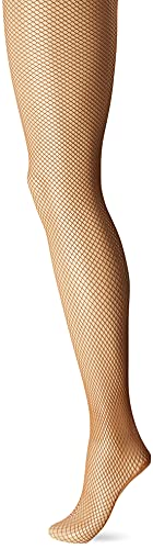 Capezio Damen Professional Fishnet Seamless Tight Strumpfhose, Suntan, Small/Medium von Capezio