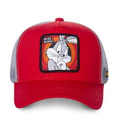 Capslab Mens CL-LOO-1-BUG1 Cap, red, One Size von Capslab