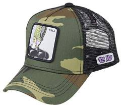 Capslab Cell Trucker Cap Dragon Ball Z Camouflage - One-Size von Capslab