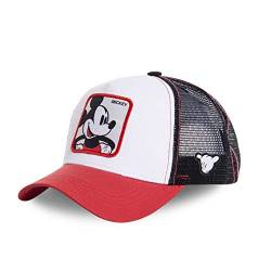 Capslab Mickey Mouse Trucker Cap Disney Collab White/Red/Black - One-Size von Capslab