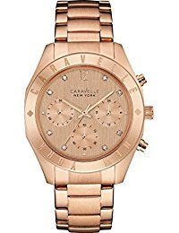 Caravelle New York 44L189 Damen Armbanduhr von Caravelle New York