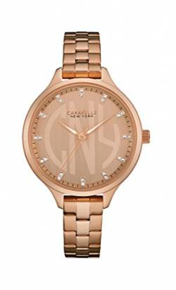 Caravelle New York Damen-Armbanduhr DRESS Analog Quarz Edelstahl beschichtet 44L207 von Caravelle New York