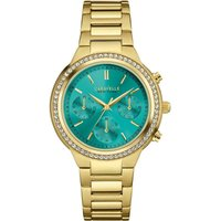 Caravelle New York Damenchronograph in Gold 44L215 von Caravelle New York