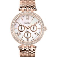 Caravelle New York Glitz Damenuhr in Rosa 44N101 von Caravelle New York