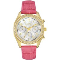 Caravelle New York Melissa Damenchronograph in Pink 44L169 von Caravelle New York