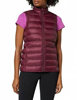 CARE OF by PUMA Damen-Steppweste/-Gilet, wasserabweisend, Rot (Red), 34 (Herstellergröße: X-Small) von CARE OF by PUMA