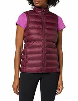 CARE OF by PUMA Damen-Steppweste/-Gilet, wasserabweisend, Rot (Red), 36 (Herstellergröße: Small) von CARE OF by PUMA