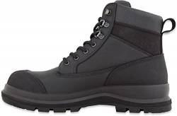 Carhartt Herren Detroit 6 Inch Rugged Flex S3 Safety Boot Construction Shoe, Schwarz, 44 EU von Carhartt