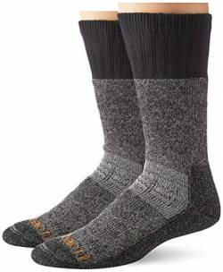 Carhartt Herren Cold Weather Boot Sock, Heather Black, L von Carhartt