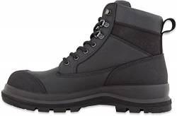 Carhartt Herren Detroit 6 Inch Rugged Flex S3 Safety Boot Construction Shoe, Schwarz, 39 EU von Carhartt