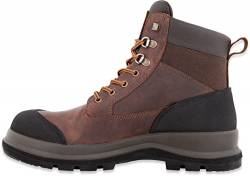 Carhartt Herren Detroit 6 Inch Rugged Flex S3 Safety Boot Construction Shoe, Dark Brown, 44 EU von Carhartt
