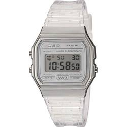 CASIO Damen Digital Quarz Uhr mit Resin Armband F-91WS-7EF von Casio