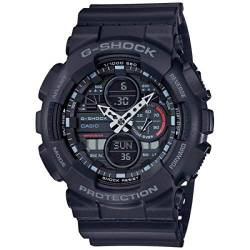 CASIO Herren Analog - Digital Quarz Uhr mit Resin Armband GA-140-1A1ER von Casio Watches