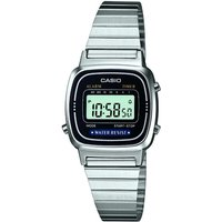 Casio Classic Collection Damenchronograph in Silber LA670WEA-1EF von Casio