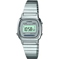 Casio Classic Collection Damenchronograph in Silber LA670WEA-7EF von Casio
