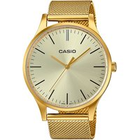 Casio Classic Collection Vintage Unisexuhr in Gold LTP-E140G-9AEF von Casio