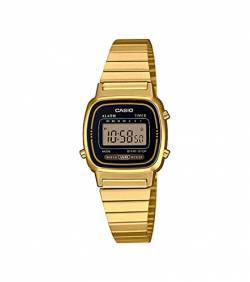 Casio Collection Damen Retro Armbanduhr LA670WEGA-1EF von Casio