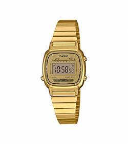Casio Collection Damen Retro Armbanduhr LA670WEGA-9EF von Casio