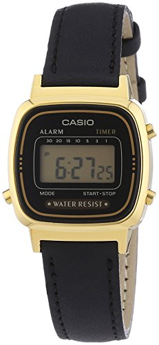 Casio Collection Damen Retro Armbanduhr LA670WEGL-1EF von Casio Watches