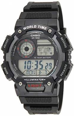 Casio Collection Herren-Armbanduhr AE-1400WH-1AVEF von Casio