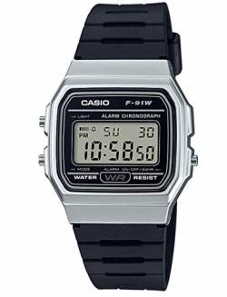 Casio Collection Unisex Armbanduhr F-91WM-7AEF von Casio