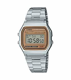Casio Collection Unisex Retro Armbanduhr A158WEA-9EF von Casio