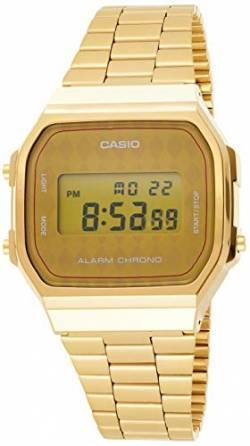 Casio Collection Unisex Retro Armbanduhr A168WG-9BWEF von Casio Watches
