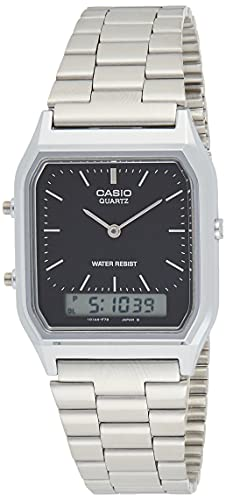 Casio Collection Unisex Retro Armbanduhr AQ-230A-1DMQYES von Casio