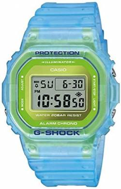 Casio G-Shock The Origin Digitaluhr Hellblau/Grün DW-5600LS-2ER von Casio