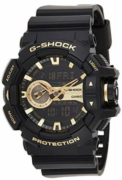 Casio Herren Analog/Digital Quarz mit Resin Armbanduhr GA110GB1AER von Casio
