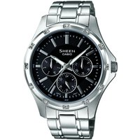 Casio Sheen Damenuhr in Silber SHE-3801D-1ADR von Casio