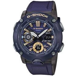 CASIO Herren Analog – Digital Quarz Uhr mit Resin Armband GA-2000-2AER von Casio