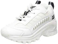 Cat Footwear Unisex-Erwachsene Intruder Sneaker, White, 38 EU von Cat Footwear