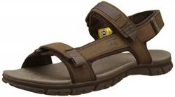 Caterpillar Herren Atchison Sandalen, Braun (Mens Dark Earth), 45 EU von Cat Footwear