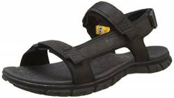 Cat Footwear Herren Atchison Open Toe Sandals, Black (Mens Black), 45 EU von Cat Footwear