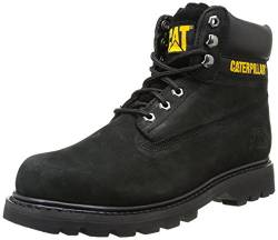 CAT Footwear Herren Caterpillar Colorado Stiefel, Schwarz (Black/Yellow Wc44100909), 42 EU von Cat Footwear