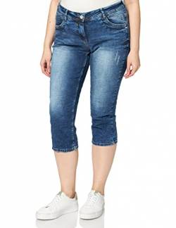 Cecil Damen Scarlett Jeans, Authentic mid Blue wash, W28/L22 von Cecil